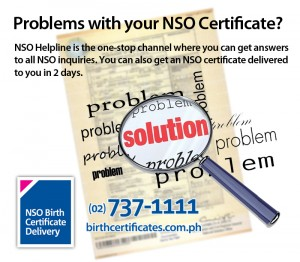 NSO CERTIFICATES