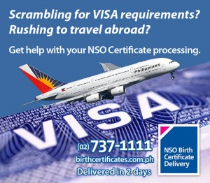 for VISA Requirements