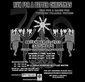 RUN FOR A BETTER CHRISTMAS