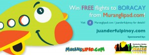 WIN A ROUNDTRIP TICKET TO BORACAY