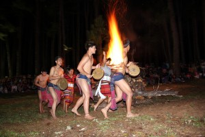 SAGADA'S PARTY OF FIRE] BONFIRE FESTIVAL