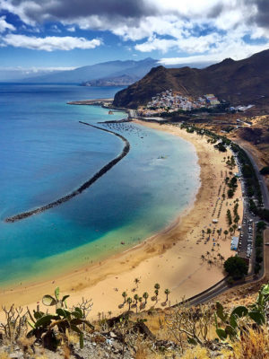 Top 5 Beaches of Tenerife