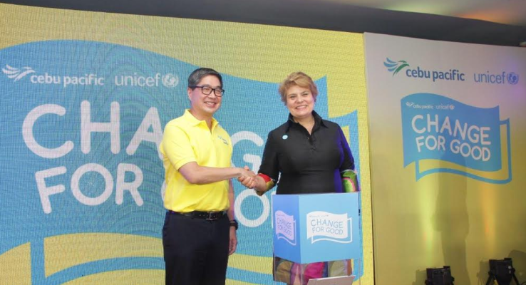 Cebu Pacific, Unicef Partner For The Good Cause