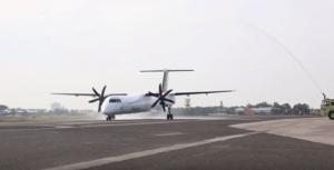 Philippine Airlines' Bombardier Q400