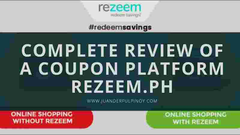 Complete Review of a Coupon Platform Rezeem.ph