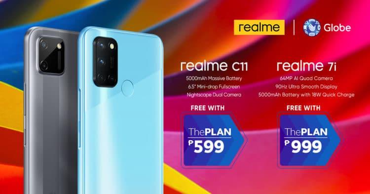 Best-selling realme smartphones now on Globe Postpaid plan