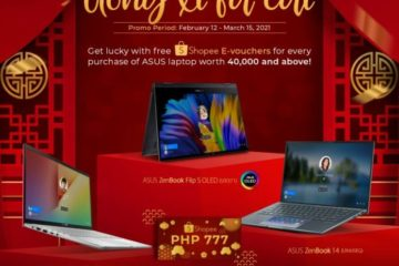 Get lucky this Chinese Lunar New Year with ASUS PHL's Shopee E-Voucher Giveaway
