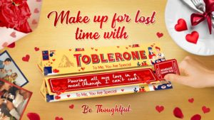 #MakeUpForLostTime with your loved ones with Toblerone Valentine's Day packs