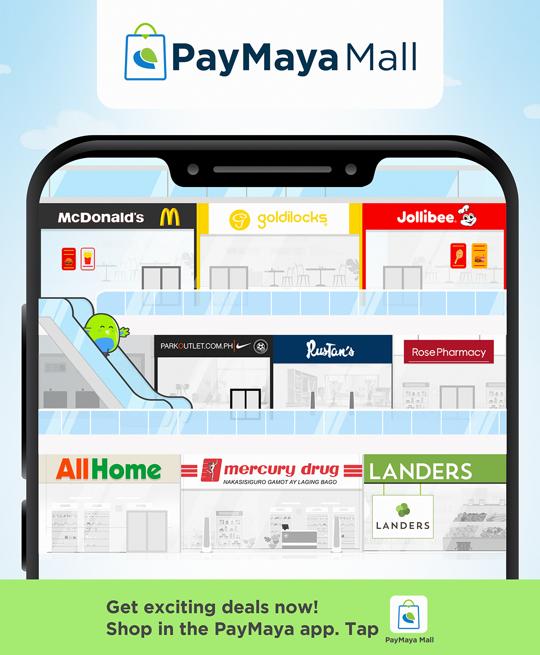Shop for your everyday essentials and more at the PayMaya Mall!