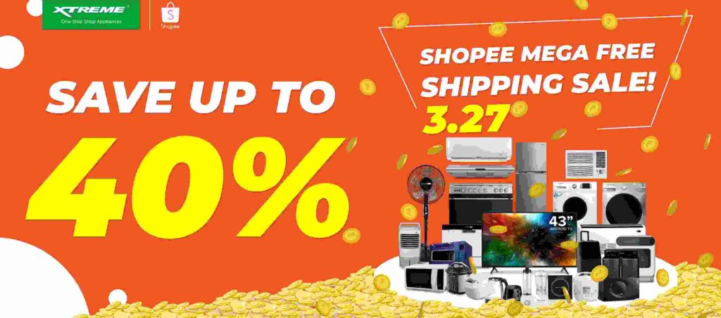 Xtreme Appliances— Enjoy big discounts of up to 57% off starting March 27!