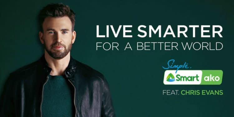 Chris Evans is newest Smart endorser