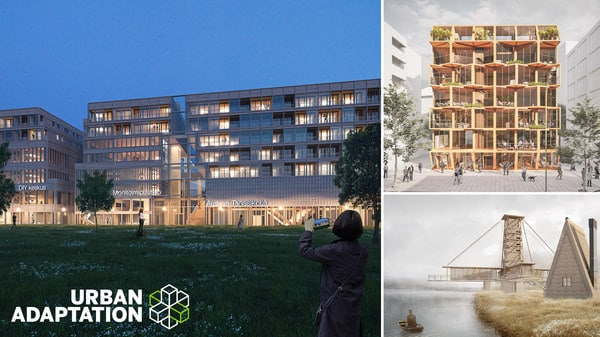 Urban Adaptation competition winners introduce ideas for flexible and sustainable urban construction
