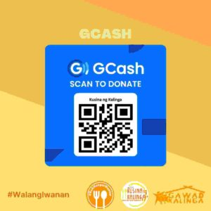 Help reduce hunger through Globe Rewards and GCash