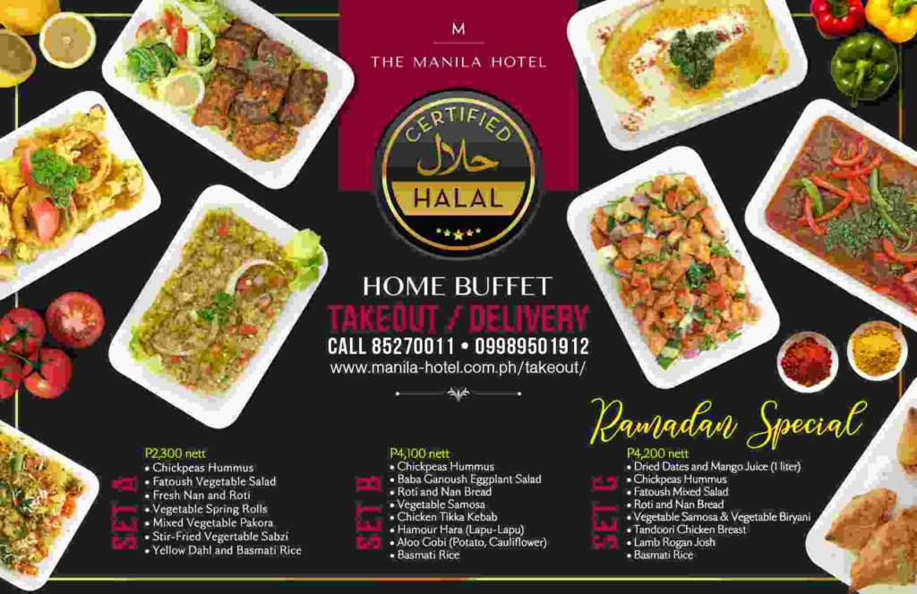 manila hotel halal certified food