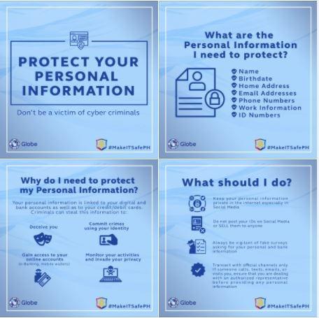 globe data privacy