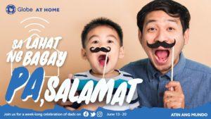 Pa, salamat Globe at home
